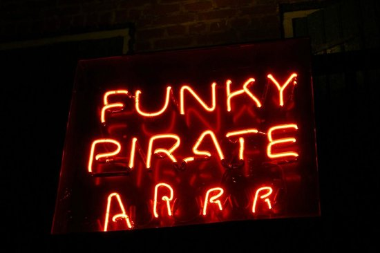 The Funky Pirate Blues Club: arrrrr