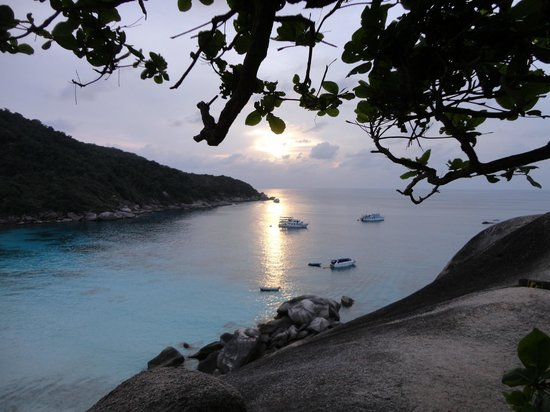 West Coast Divers: View from Sail Rock, Similans