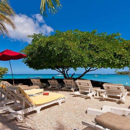 Le Beach Club: Sun basking spot