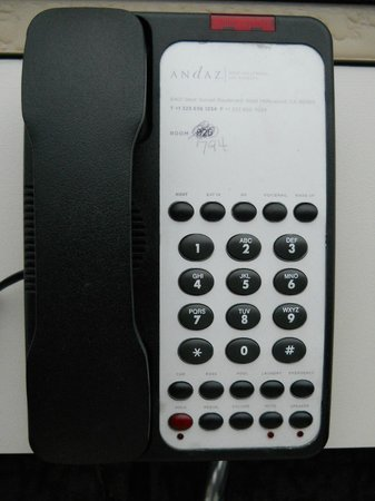 Grand Hyatt Washington : Room phone