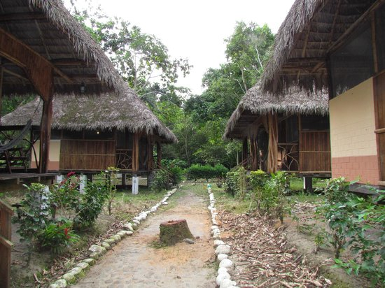 Isla Ecologica Mariana Miller Lodge: cabanas