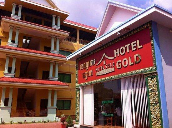 Hotel Gold Cambodia: Reception