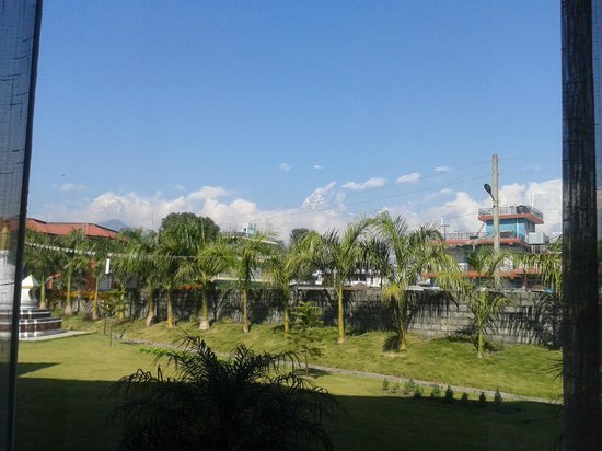 Pokhara Grande: Stunning view from the room