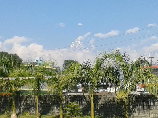 Pokhara Grande: Fishtail mountain