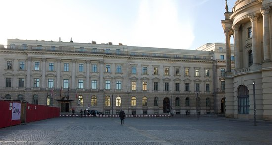 Front of Hotel de Rome; Humboldt Univ on right