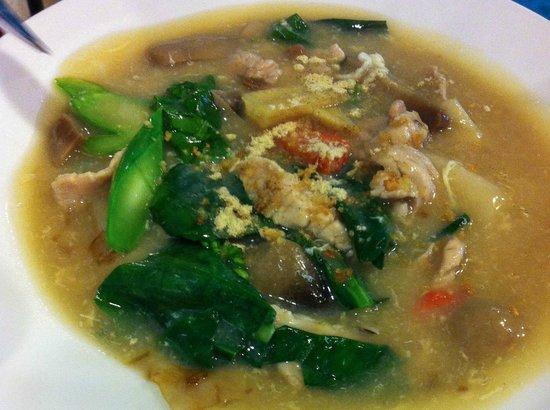 Thai Affair: Chicken noodle soup