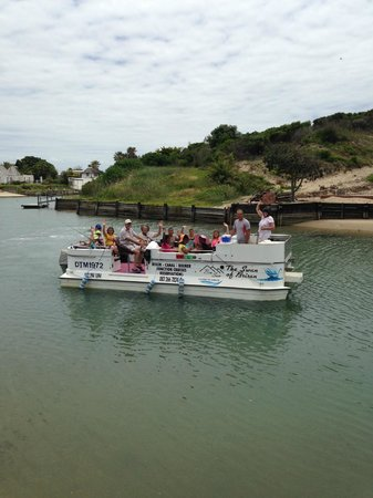 Brisan On The Canals: Eco cruise for learners from Union High School plus teachers