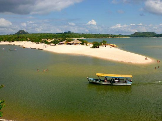 Alter do Chao Beach: outstanding scenary