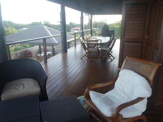Musket Cove Island Resort: Villa Marau Deck