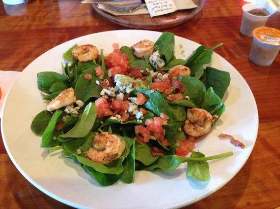 Hooters: Very good taste - 8-10 shrimp!