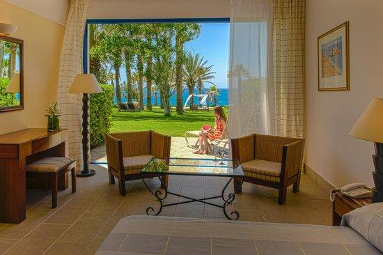 Azia Resort & Spa : Club & Spa Bungalow Sea View - with garden area