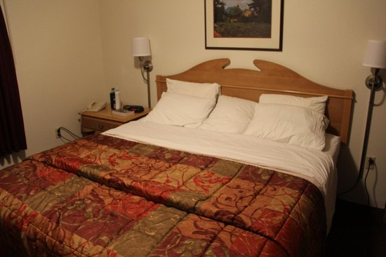 Olympic Suites Inn : King bed
