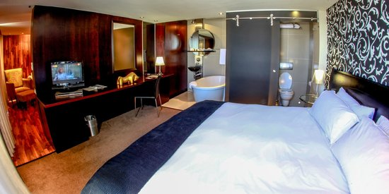 Colosseum Luxury Hotel: Bedroom in Penthouse