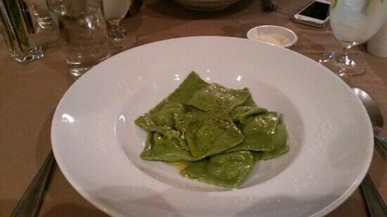 Duomo: ravioli spinach