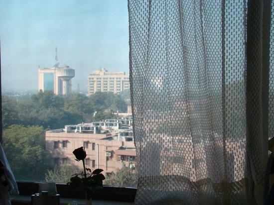 The Connaught: Вид из окна