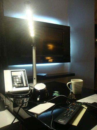 Le Meridien Bangalore : Television from the Study area