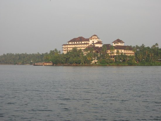 The Raviz Resort and Spa, Ashtamudi: View from Shikara