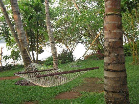 The Raviz Resort and Spa, Ashtamudi: Leisure in front of the lake