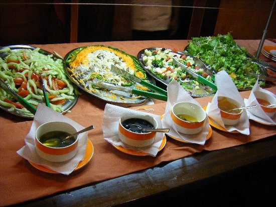 Ngorongoro Wildlife Lodge : 食事2