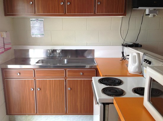 Sea Gypsy Motel : Fully equipped kitchen