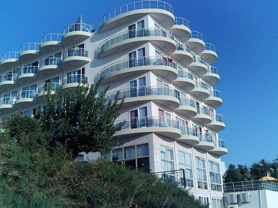Arora Hotel: само здание отеля со двора