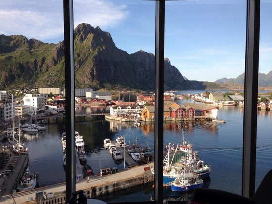 Thon Hotel Lofoten: View from my room