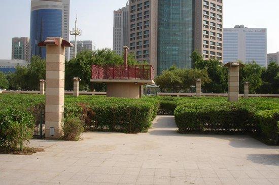 Al Manzel Hotel Apartments: The maze opposite the corniche