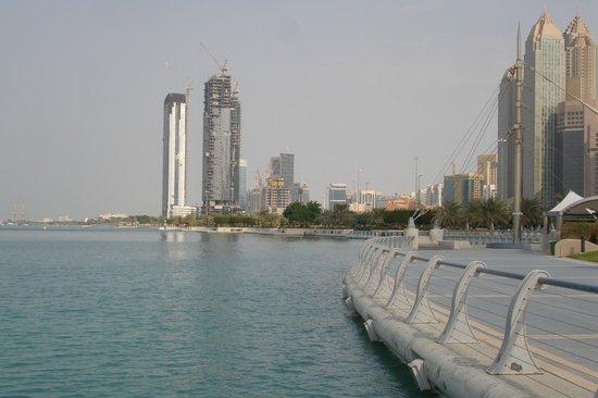 Al Manzel Hotel Apartments: View from the Corniche