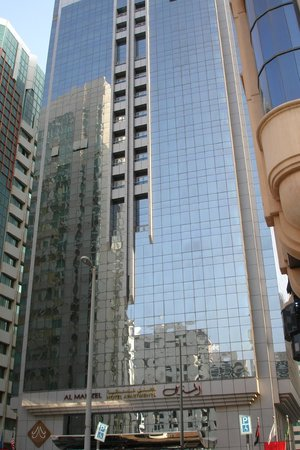 Al Manzel Hotel Apartments: Hotel exterior