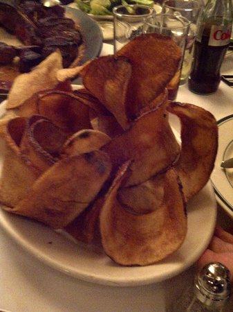Wolfgang's Steakhouse: Patatine giganti
