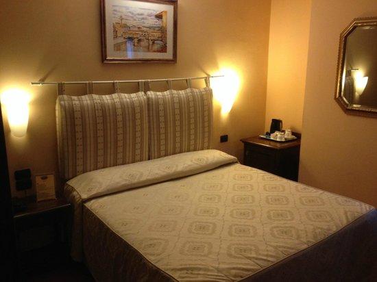 Hotel Caravaggio: la camera