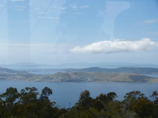 Mount Nelson Lookout : View from Mount Nelson