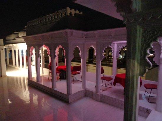 Anjani Hotel: Terrace