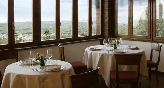 Miravalle Palace Hotel: panorama