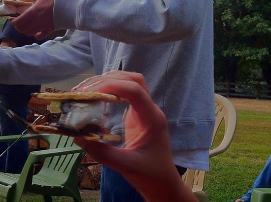 The Cabins at Beaver Creek : smores yum!!