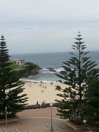 Coogee Sands Hotel & Apartments: The view from the Studio Terrace