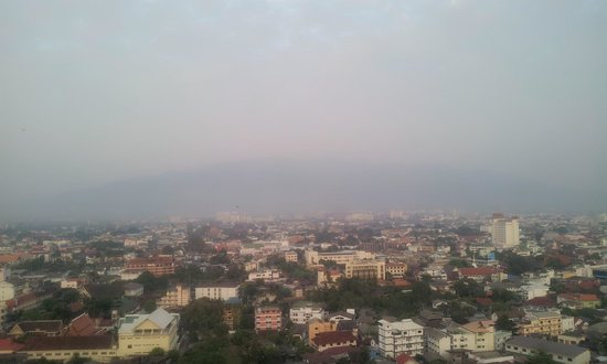 Le Meridien Chiang Mai : view over from the room