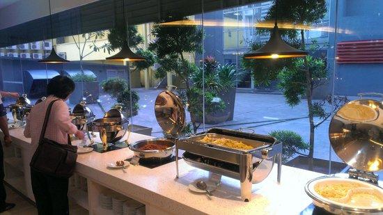 ibis Styles Kuala Lumpur Fraser Business Park: Breakfast item