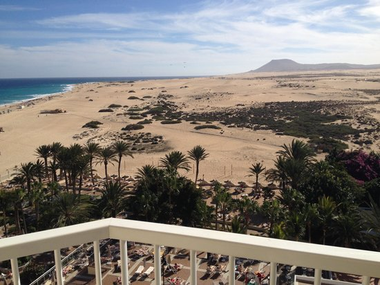 ClubHotel Riu Oliva Beach Resort: View from our balcony (Floor 7)