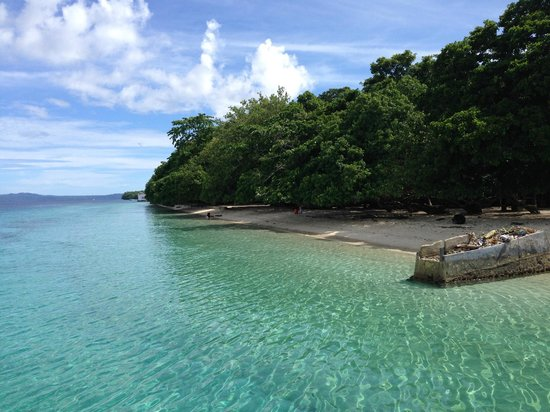Maluku, Indonezja: Clear blue water