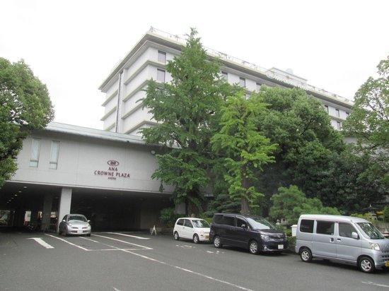 ANA Crowne Plaza Kyoto: 外観です