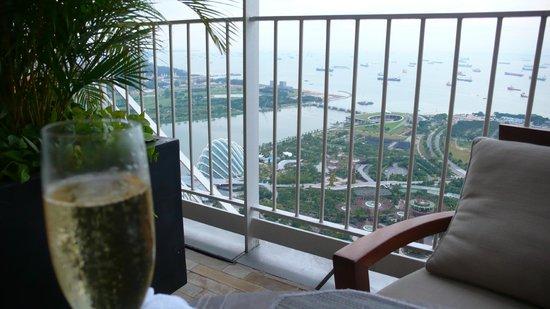 Marina Bay Sands : Begrüssungsapero with a view
