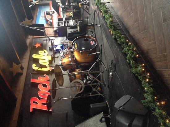 Rock Café Fuerteventura: Cool decor