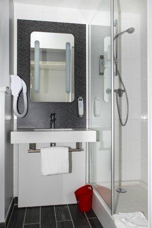 Ibis St Genis Pouilly Geneve: La salle de bain