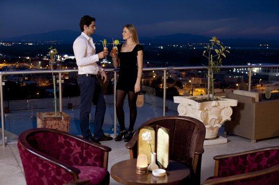 Hotel Lidya Sardes: Lobi Teras
