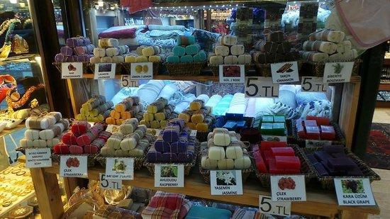 Richmond Hotel Istanbul: Local soap