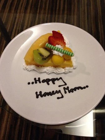 Dusit D2 Chiang Mai: Honeymoon cake