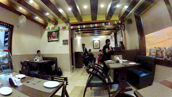 Majnu ka Tilla: One of many of the great little Tibetan owned and run boutique restaurants that are popping up i