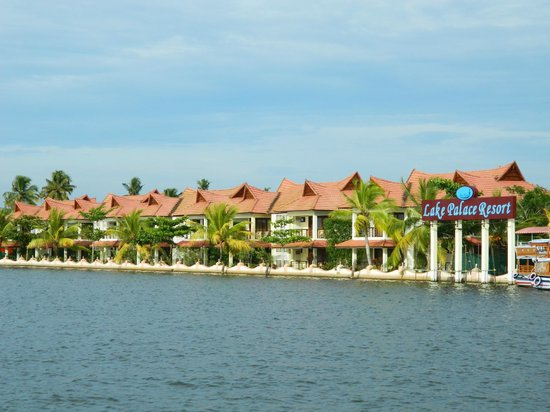 Lake Palace Resort: One wing of the resort