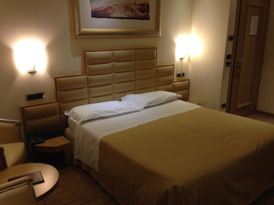 Hotel Silver: very comfortable bed